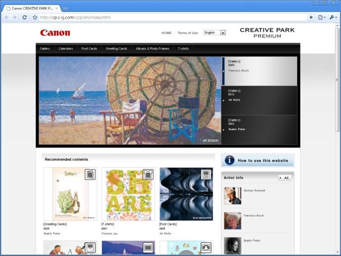 Canon Creative Park Premium