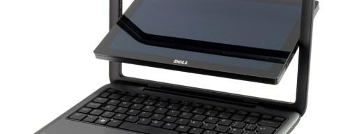 Dell Inspiron Duo - mid-transformation