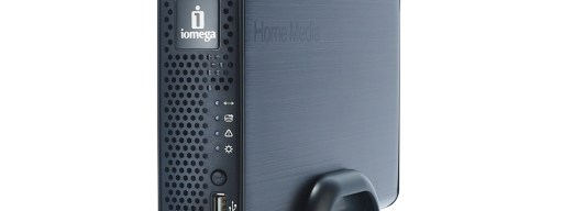 The Home Media Network Hard Drive's single-disk design keeps it compact enough for any living room