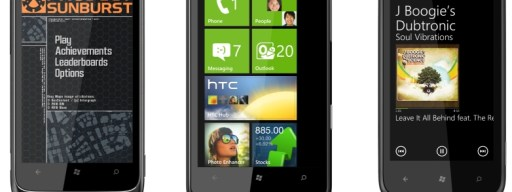 HTC Windows Phone 7 handsets