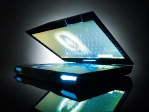 Alienware m14x - AlienFX lighting array