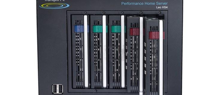 Tranquil Leo HS4 Home Server review