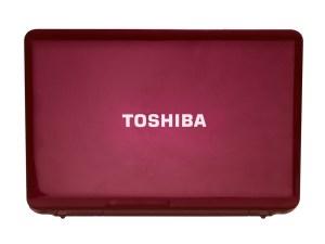 Toshiba Satellite L755D - rear
