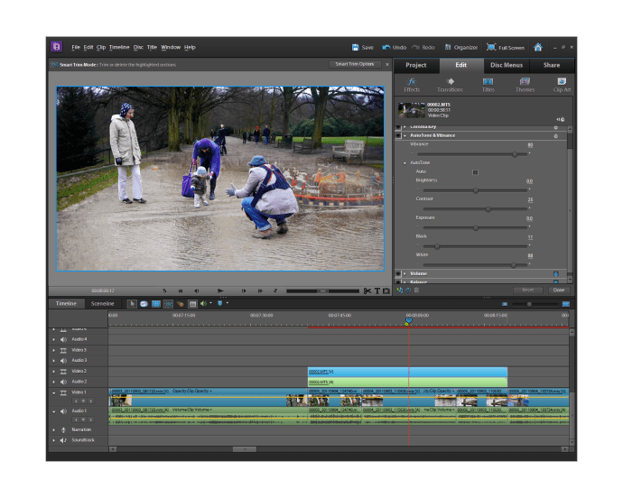Adobe Premiere Elements 10 - effects