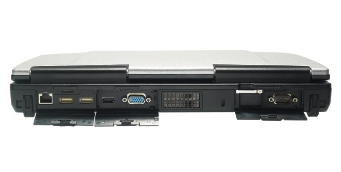 Panasonic Toughbook CF-53 - ports