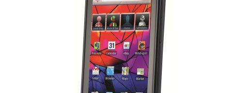 Motorola Razr from the front