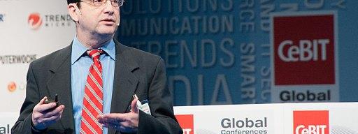 W3C CEO Jeff Jaffe, speaking at CeBIT