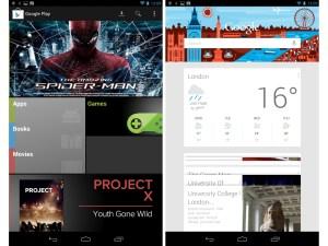 Nexus 7 Play store and Google Now