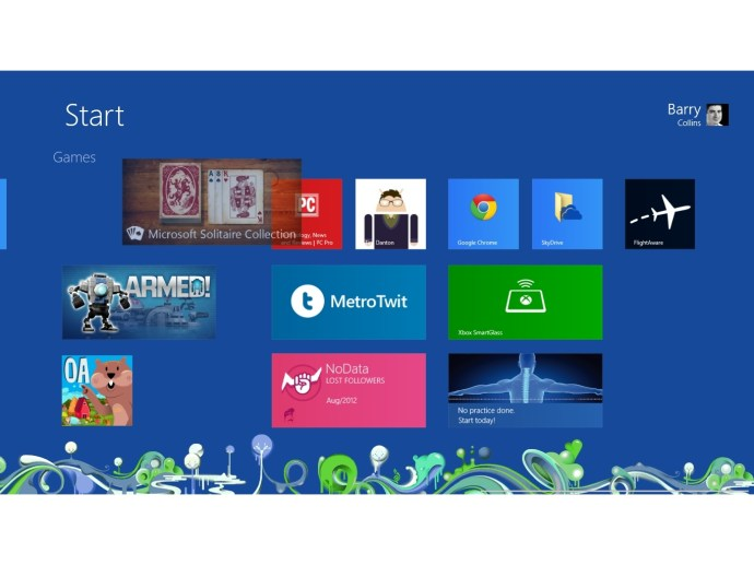 Windows 8 - Moving apps on the Metro Start screen