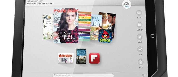 Barnes & Noble takes on Amazon with Nook HD tablets