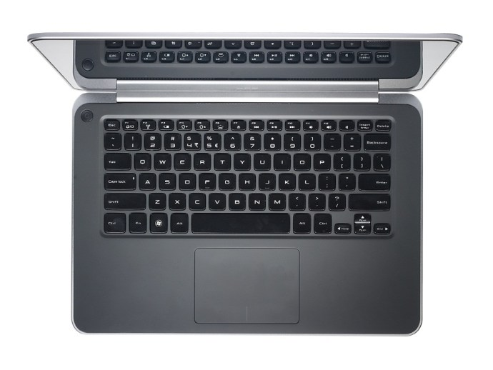 Dell XPS 14 - keyboard