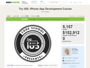 Code School iOS Kickstarter