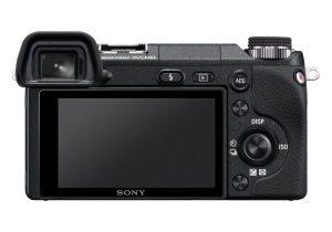 Sony Alpha NEX-6 from rear