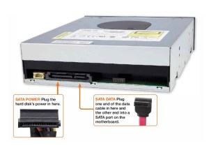 Optical drive SATA ports