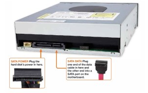 Optical drive SATA ports