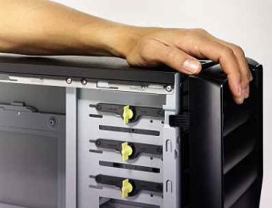 How to put a PC case back together