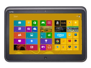 Dell XPS 12 - tablet mode
