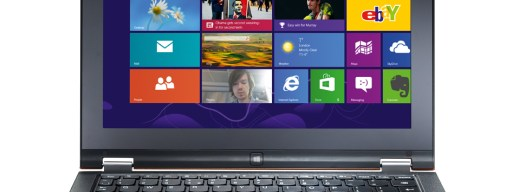 Lenovo IdeaPad Yoga 11 - front (laptop mode)
