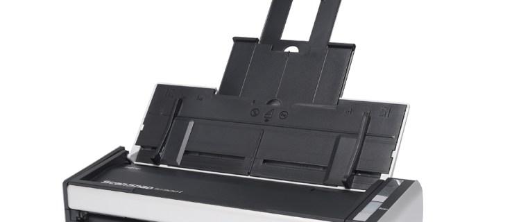 Fujitsu ScanSnap S1300i review