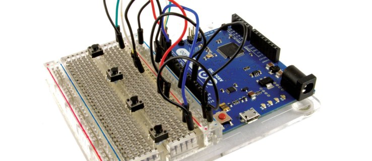 An Arduino makes an ideal controller for an electronics project