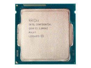 Externally, the Core i7-4770K looks much like any other recent Intel processor