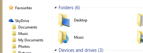 SkyDrive now lets you keep your files synced without taking up unnecessary disk space