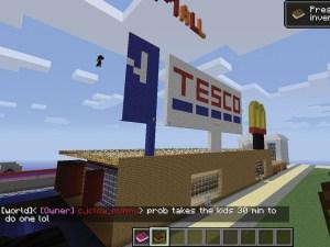 Tesco Minecraft