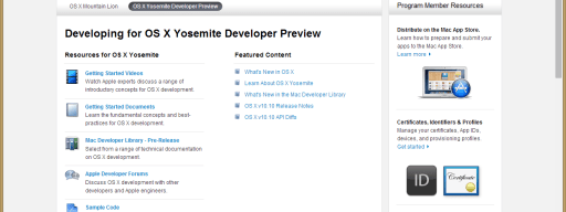 How to download and install OS X 10.10 Yosemite as a developer