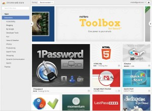Extensions in Chrome Web Store