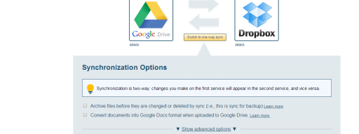 Sync Google Drive and OneDrive