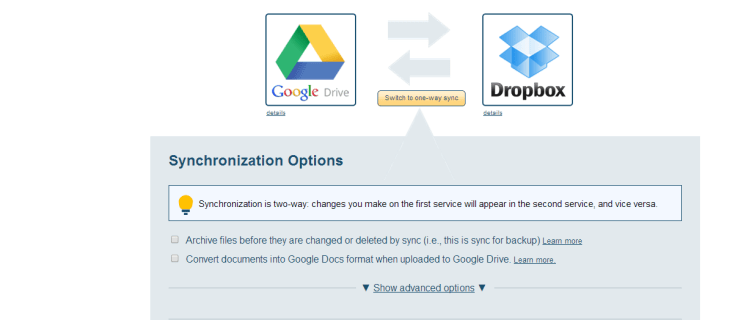 How to transfer and sync files between Dropbox, OneDrive, Google Drive