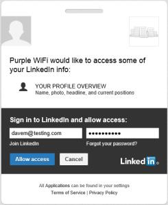 Purple WiFi