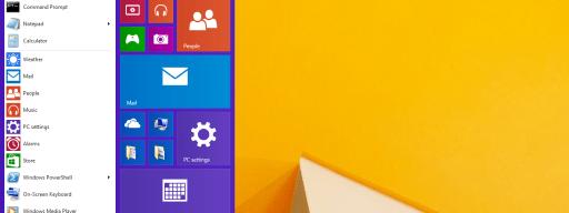 Windows 8.1 update Start Menu