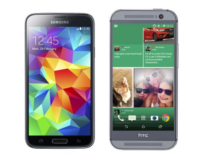 Samsung Galaxy S5 vs HTC One M8: what's the best iPhone 5s alternative?