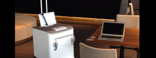 Fuji Xerox Robot Printer