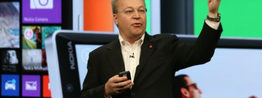 Stephen Elop at Lumia 930 launch