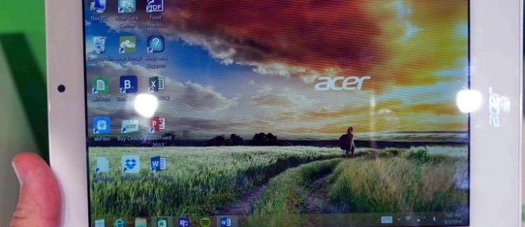 Acer Tab 8W hands on