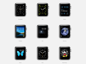 Apple Watch release date: faces