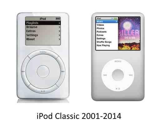 Apple kills off iPod Classic