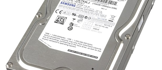 Samsung SpinPoint F1 (750GB) review