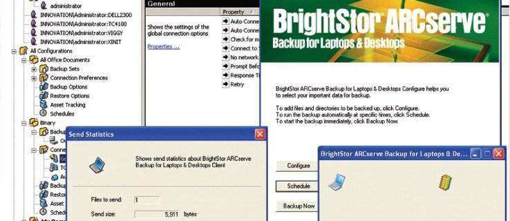 CA BrightStor ARCserve Backup for Laptops and Desktops 11.1 review