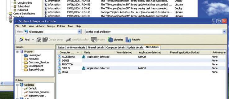 Revisión de Sophos Anti-Virus Enterprise 6