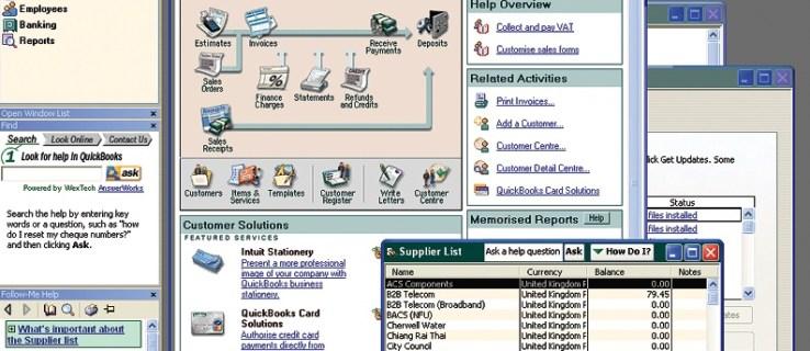 Intuit QuickBooks Pro 2005 review
