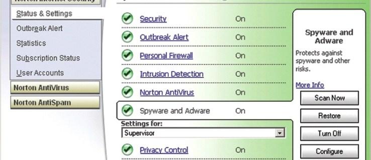 Symantec Norton Internet Security 2005 AntiSpyware Edition review