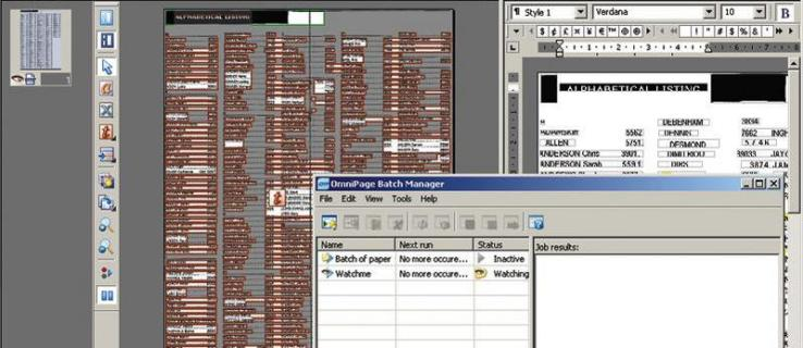 ScanSoft OmniPage Professional 15 review
