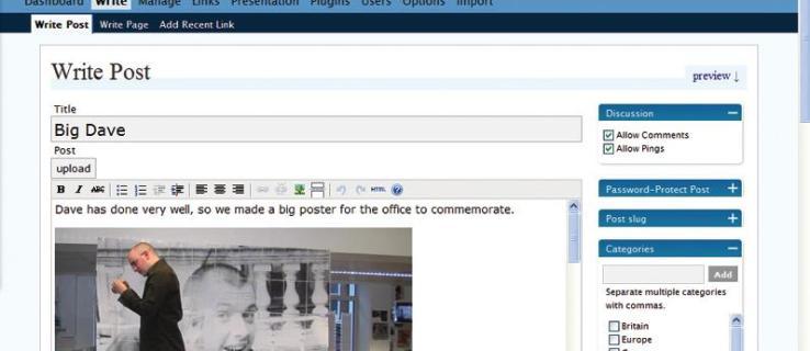 WordPress 2.0.1 review