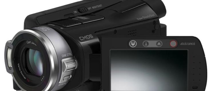 Sony HDR-SR8E review