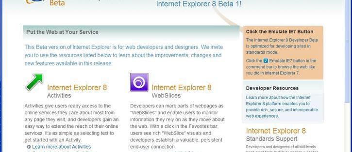 Internet Explorer 8 (Beta 1) review