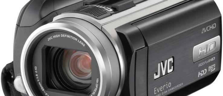 JVC Everio GZ-HD40 review