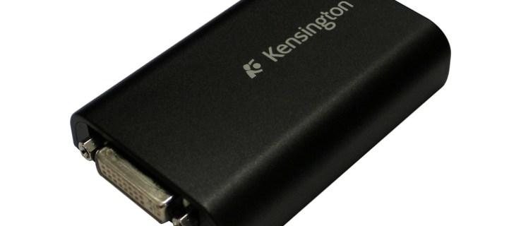 Kensington Dual Monitor Adapter review
